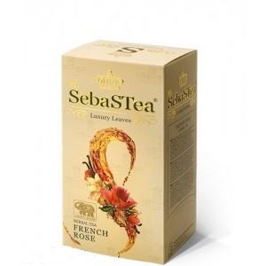 Чай черный пакетированный SebasTea French Rose 25х1.5г