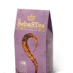 Чай черный листовой SebasTea Lady Grey 100г
