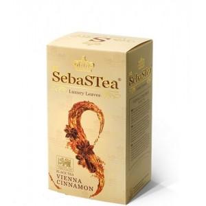 Чай черный пакетированный SebasTea Vienna Cinnamon 25х1,5г