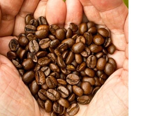 Обжарка кофе: обжаренные зерна