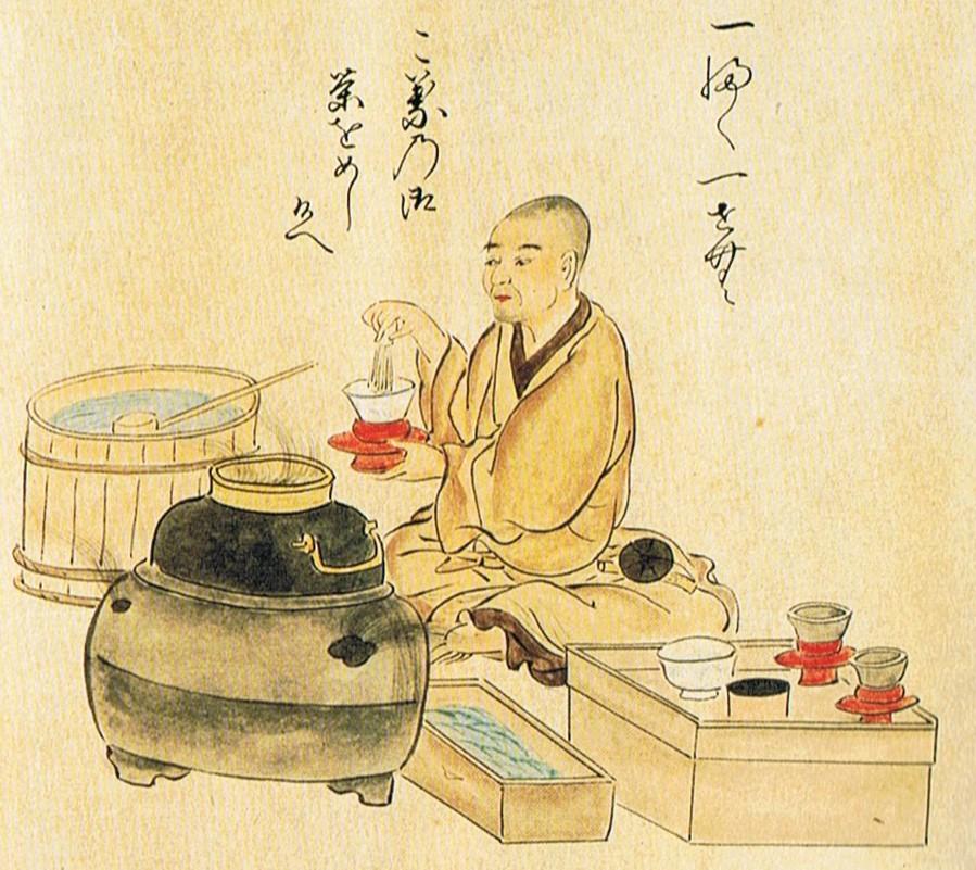 История японского чая