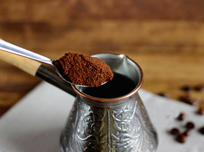 Как варить кофе в турке: порция